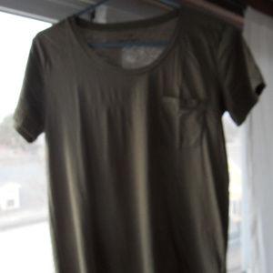 J. Crew NWOT Women's Sunwashed Garment Dyed Tee